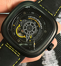 【一比一】七个星期五 SevenFriday MICAH'S VOICE PVD外壳 黑色面